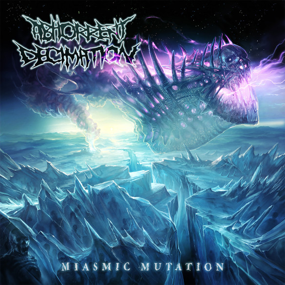 Abhorrent Decimation Miasmic Mutation Artwork