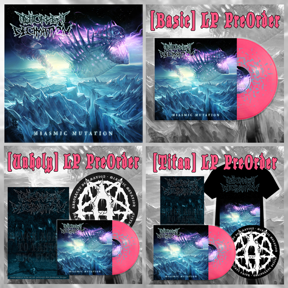 Abhorrent Decimation Miasmic Mutation Vinyl