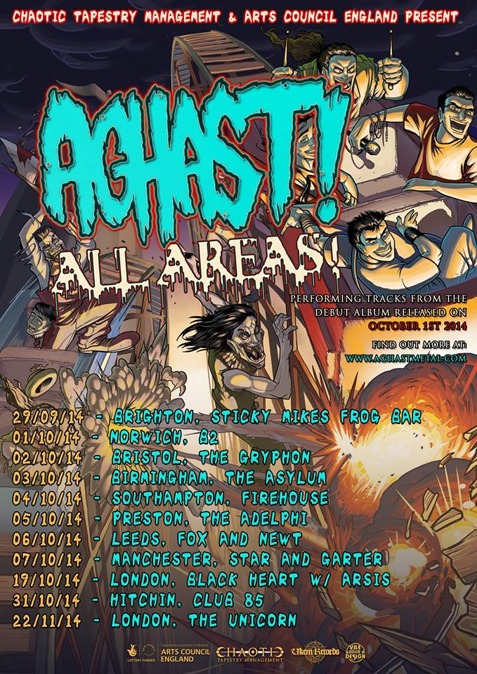 Aghast All Areas Tour