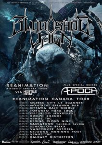 Bloodshot Dawn Canada Tour