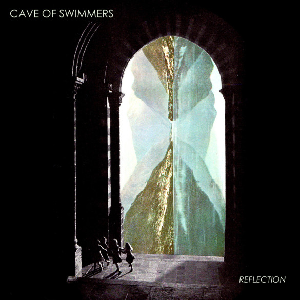 Cave Of Swimmers Reflections Artwork