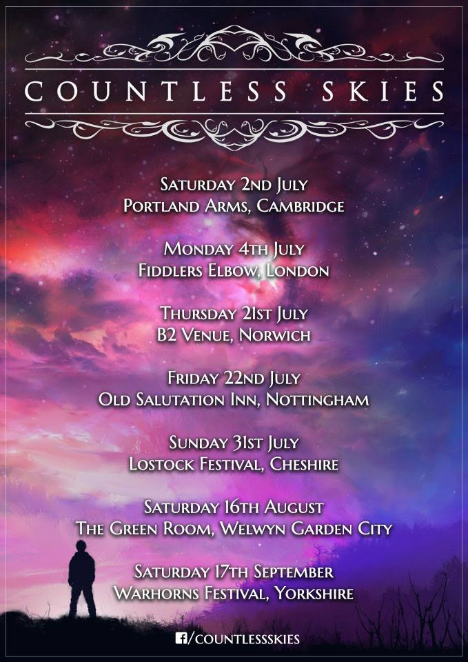 Countless Skies UK Tour