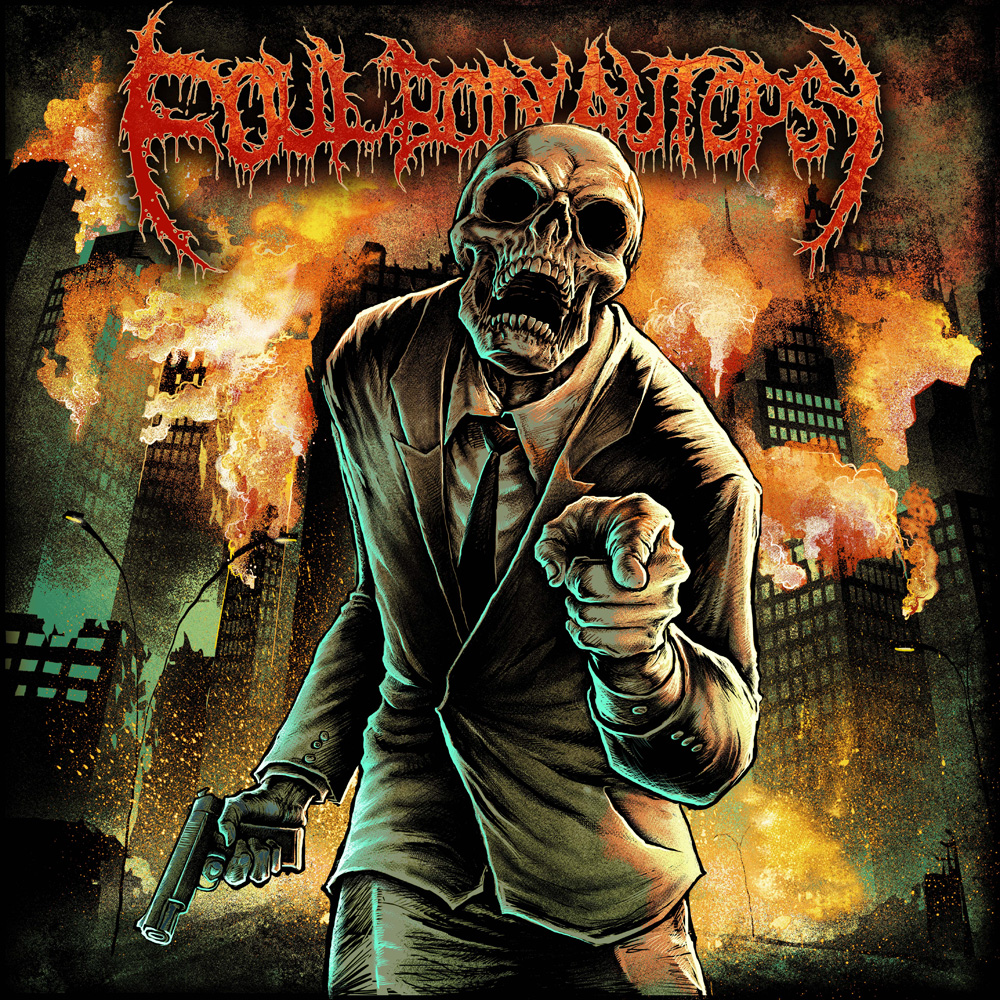 Foul Body Autopsy - Perpetuated By Greed Artwork