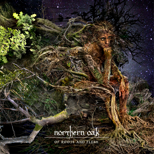 Northern Oak - Of Roots And Flesh Artwork