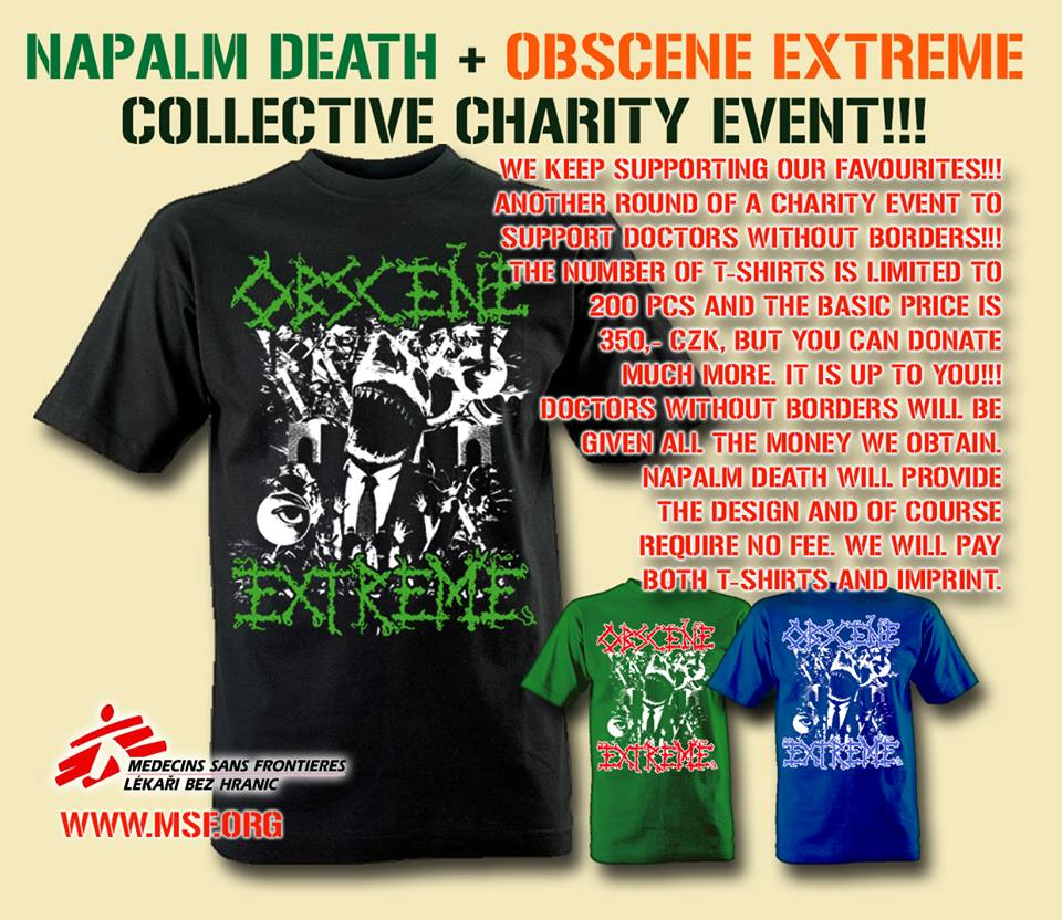 OEF Charity Shirt Napalm