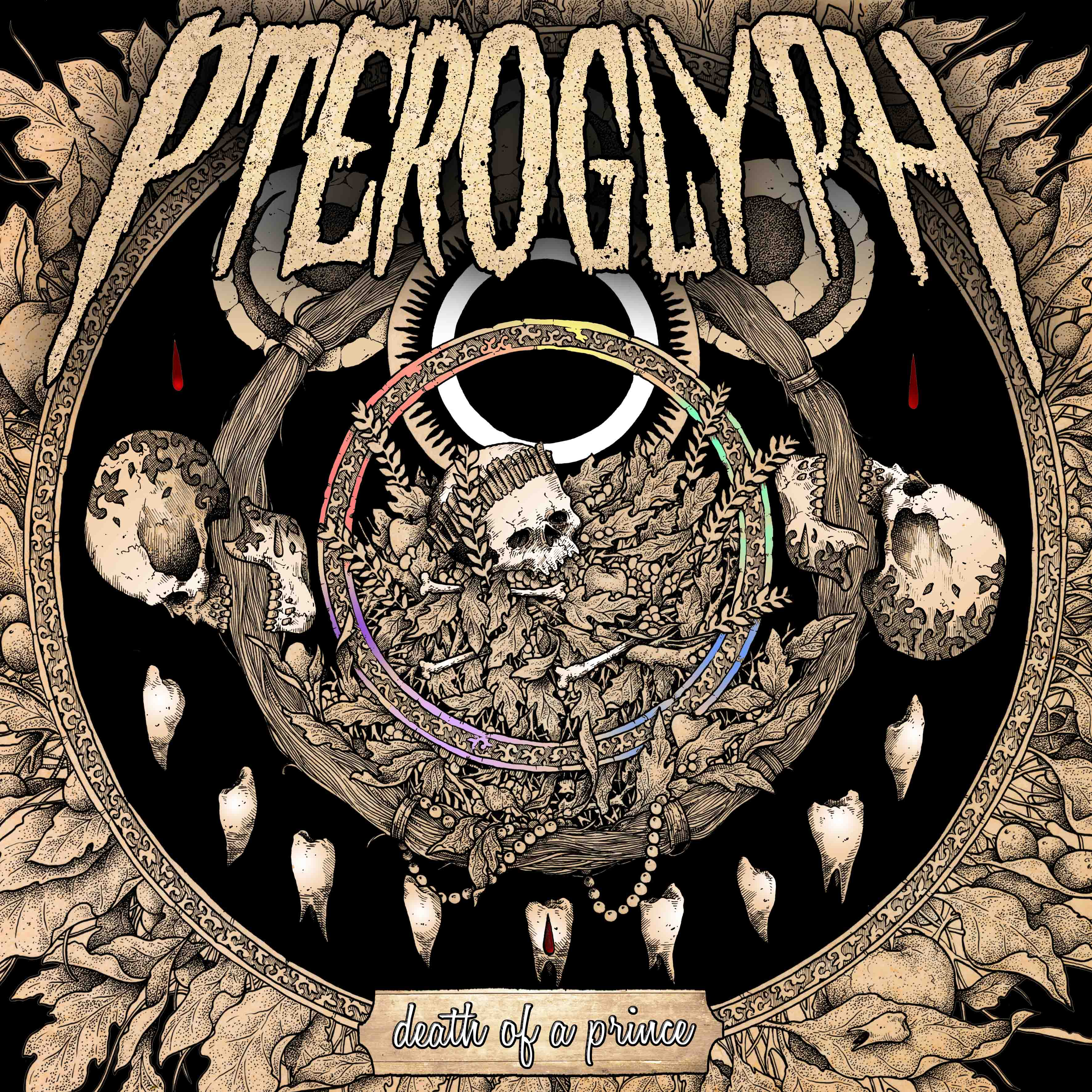 Pteroglyph - Death Of A Prince Artwork