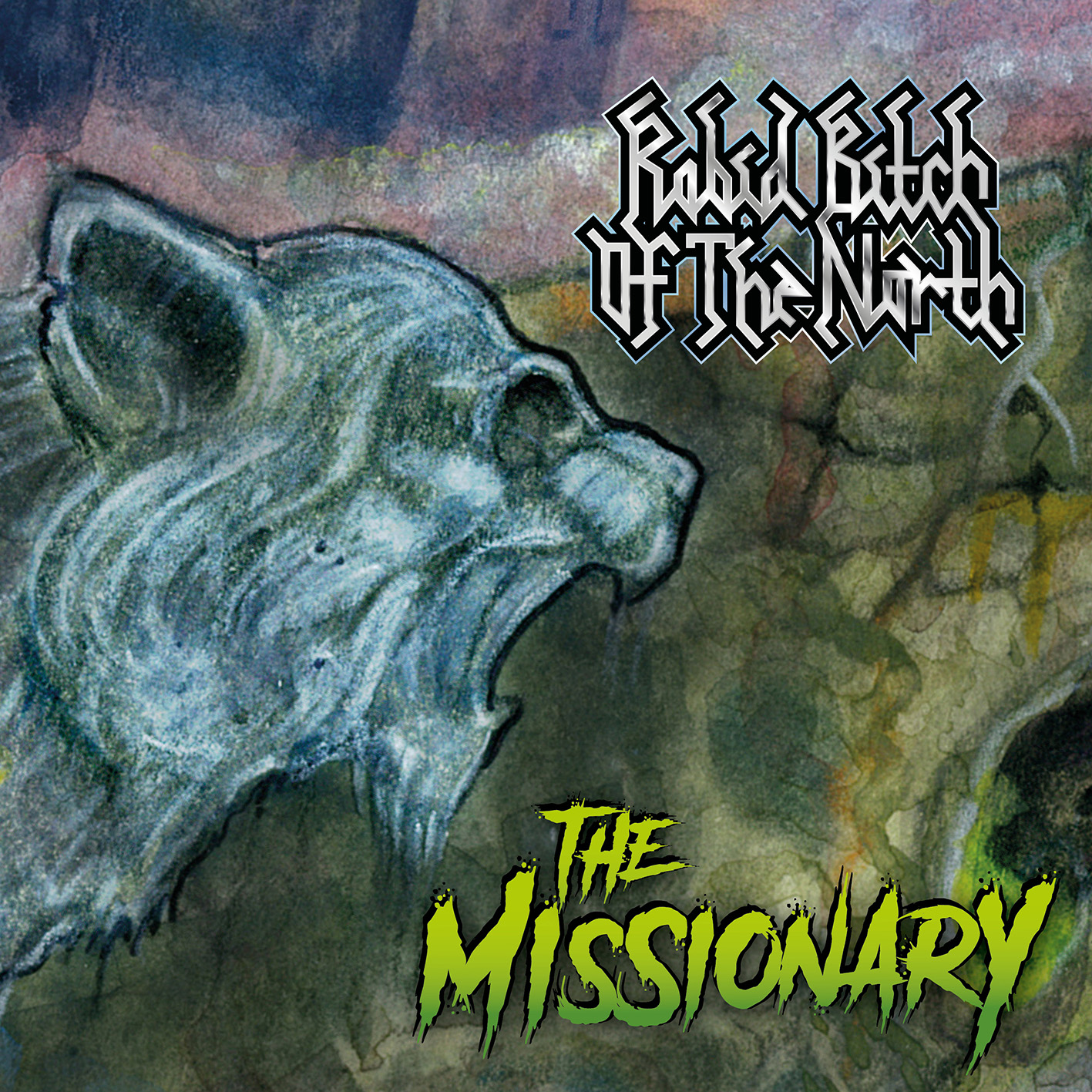 Rabid Bitch Of The North - The Missionary Artwork