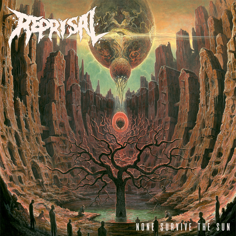 Reprisal - None Survive The Sun Artwork