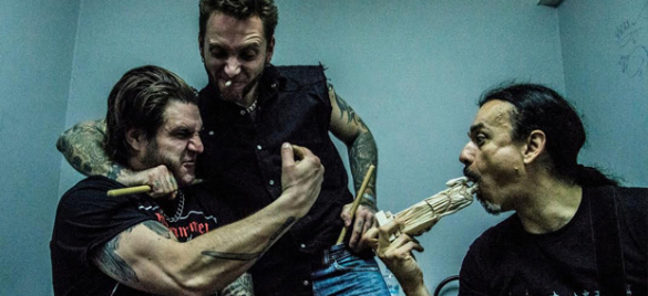 Schrinec Plays Pungent Stench Blastfest 2015