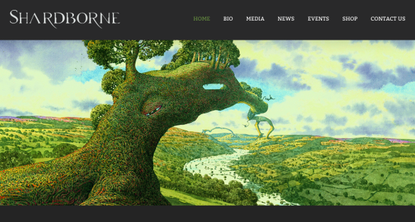 Shardborne Website Front