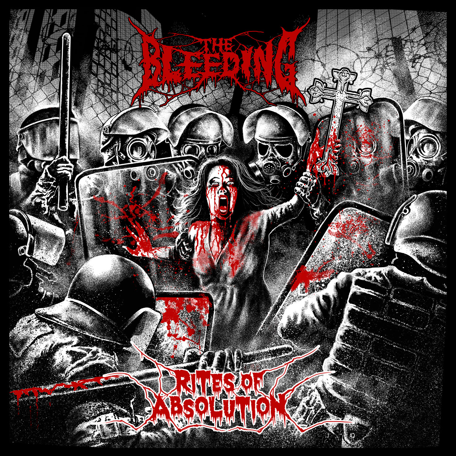 The Bleeding - Rites Of Absolution Artwork