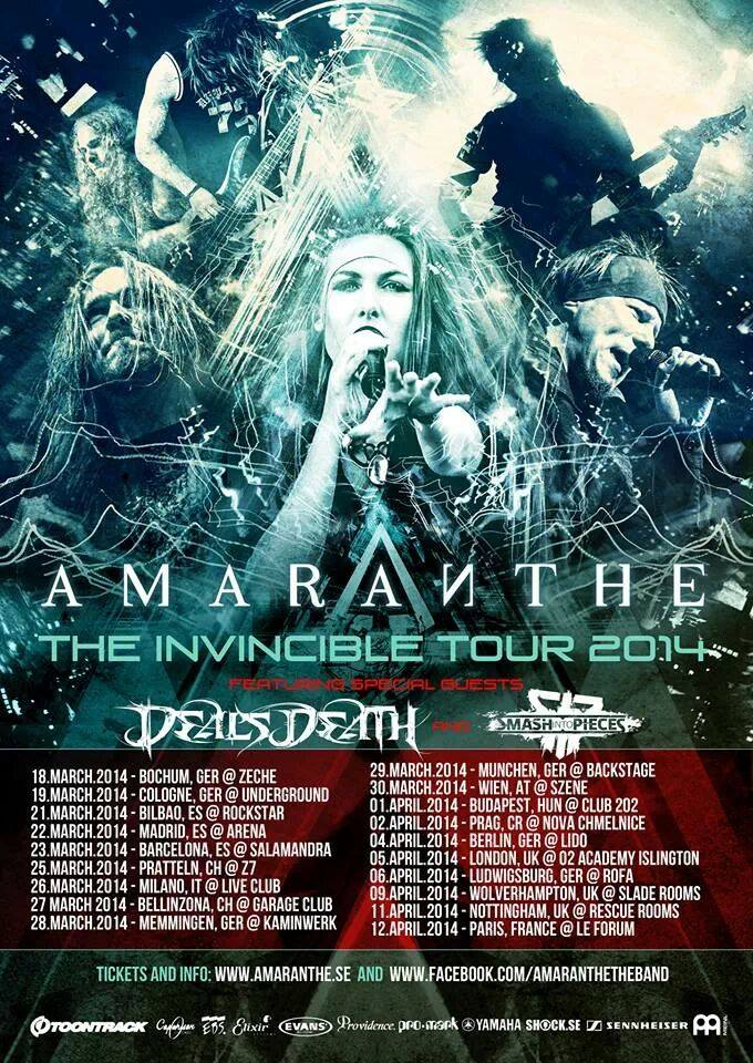 The Invincible Tour 2014