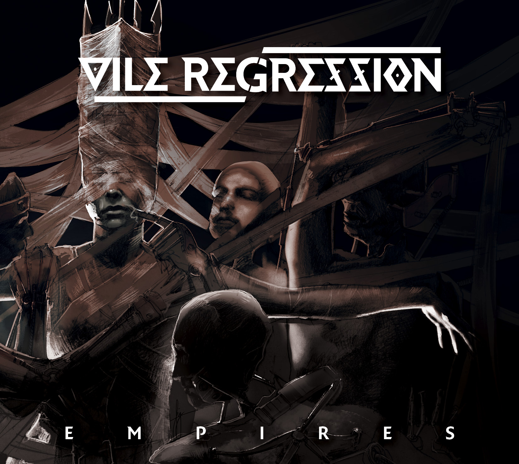 Vile Regression - Empires Artwork